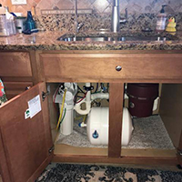 Under The Sink Reverse Osmosis System