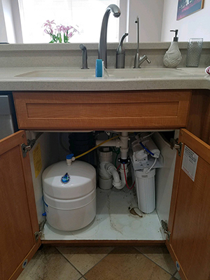 Reverse Osmosis System And Water Conditioner