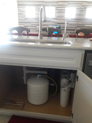 Reverse Osmosis System And Water Softener