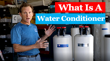 how does a water conditioner work