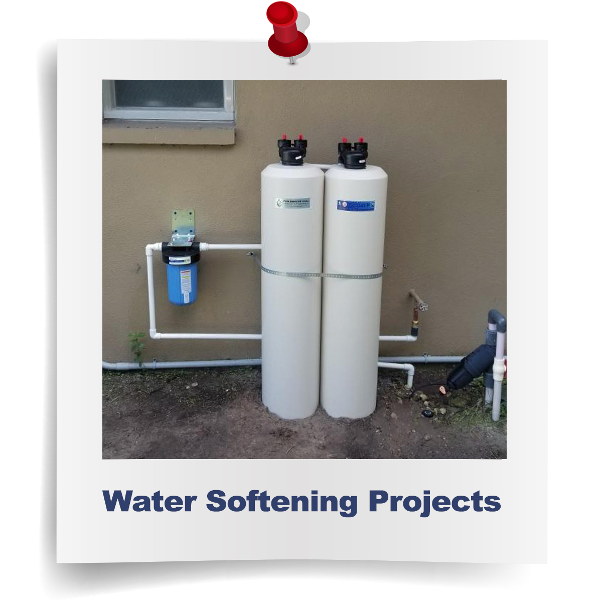 water softening/conditioning projects